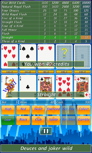 Video Poker Slot Machine.  screenshots 3