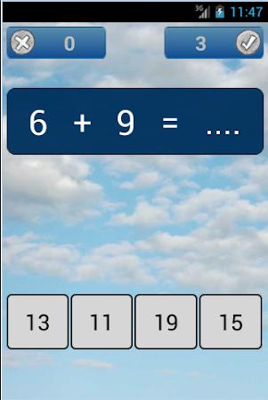 Basic Math for Kids 1.0 screenshot 2071837