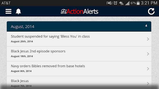 Action Alerts - screenshot thumbnail