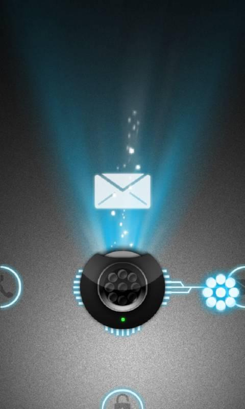Holo Projector theme Go Locker - screenshot