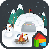 igloo night dodol theme