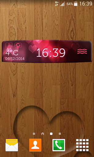 愛的天气和时钟应用