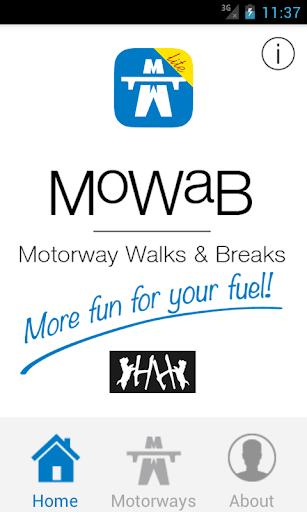 Motorway Walks and Breaks Lite