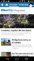 Screenshot of CIBERPAÍS