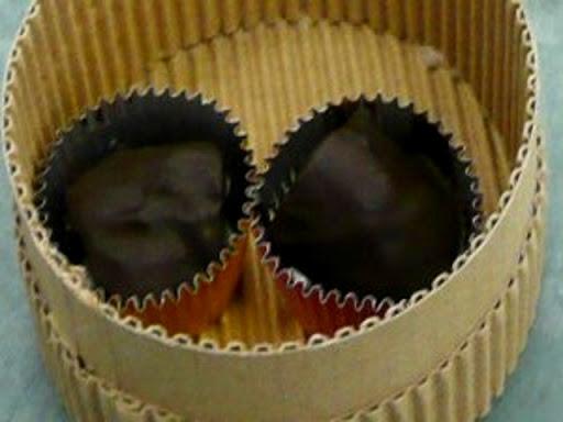 佐渡の柿ブラチョコ