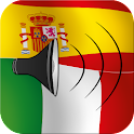 Spanish to Italian phrasebook icon
