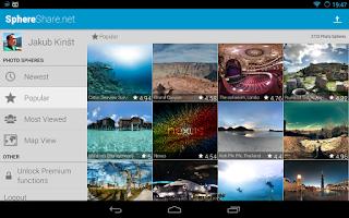 Screenshot of SphereShare.net