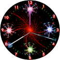 Sparks Analog Diwali Clock icon