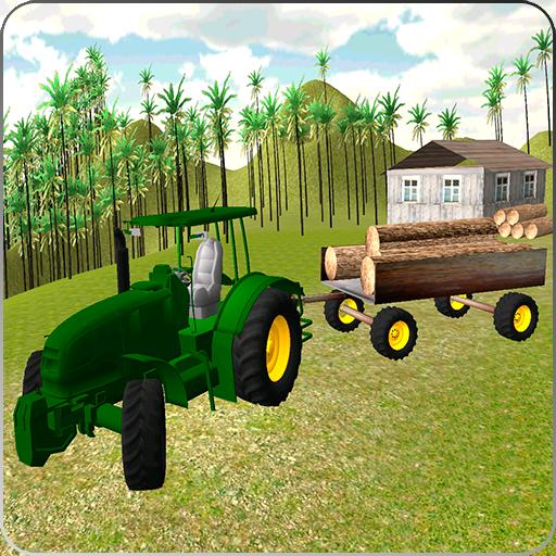 货物运输农用拖拉机 模擬 App LOGO-APP試玩