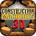 Popar Construction Machines 3D icon