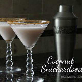 Coconut Snickerdoodletini Cocktail.