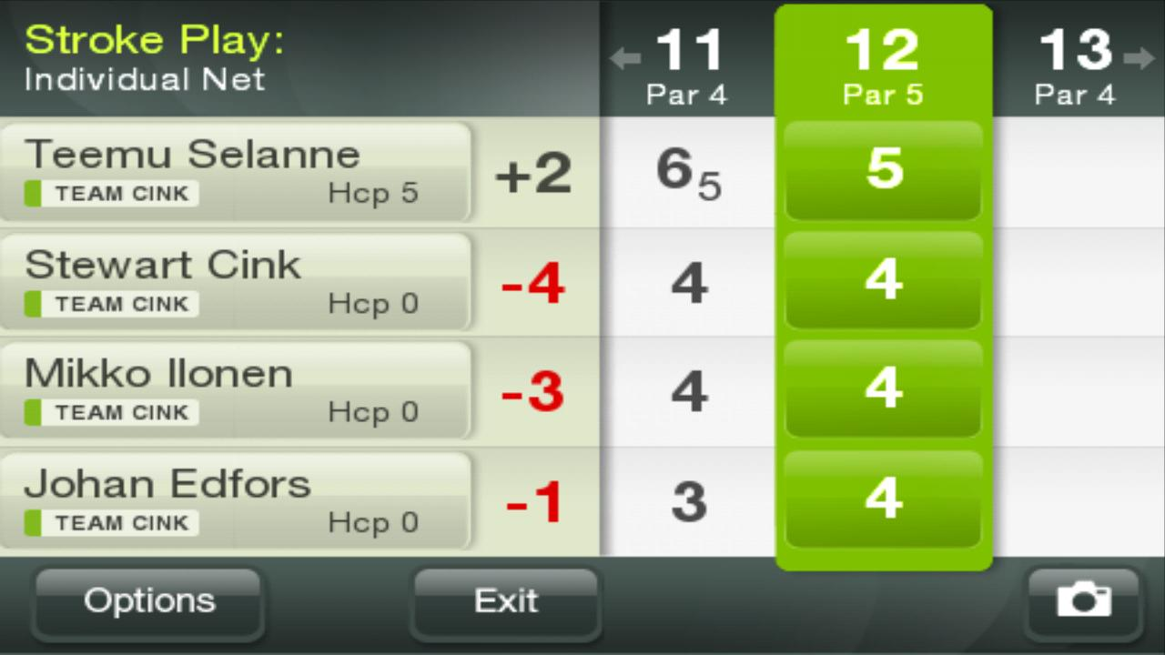 Golf GameBook - screenshot