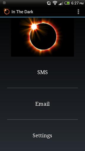 In The Dark App - Free Version