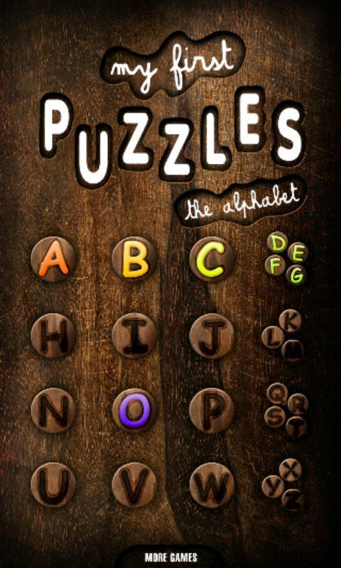 First Kids Puzzles: Alphabet- screenshot