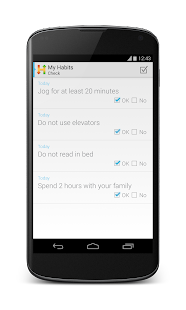 Habitizer. Habit Organizer - screenshot thumbnail