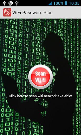 WiFi Password Scanner