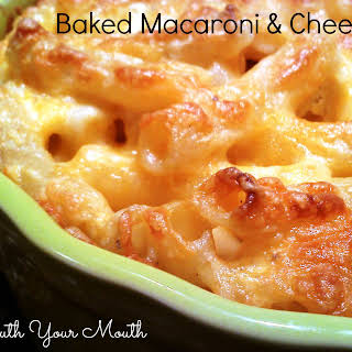 Baked Macaroni & Cheese.