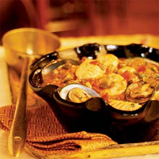 Seafood Soup (Caldo de Mariscos).