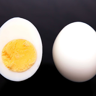 Perfect Steamed Boiled Eggs.