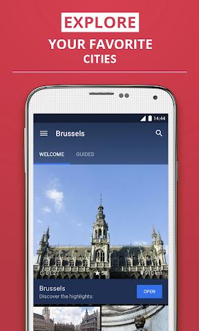 Screenshot 1 Brüssel Reiseführer