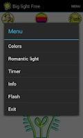 Screenshot of Big light Pro