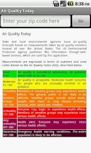 Air Quality Today- screenshot thumbnail