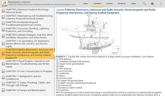 Boatowners Electrical Manual- screenshot thumbnail