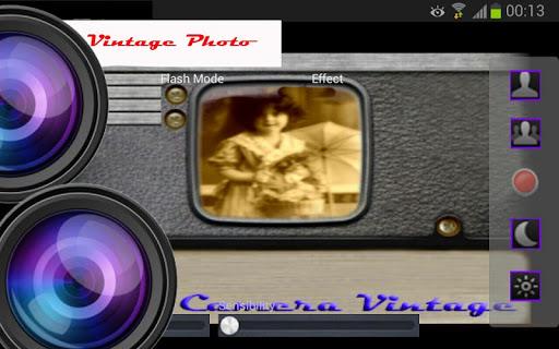写真カメラのヴィンテージ