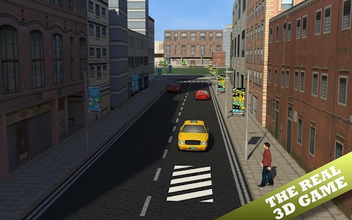 值班出租車司機的3D模擬器