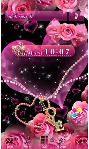 Hearts and Roses Wallpaper 1.7 Windows u7528 1