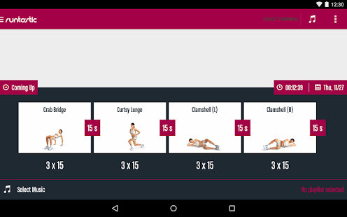 Runtastic Butt Trainer Workout Screenshot 15