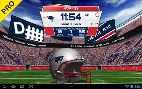 NFL 2015 Live Wallpaper - screenshot thumbnail