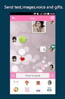 Screenshot of VSOCIAL - video chat+facebook