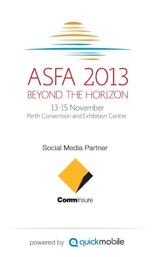 ASFA 2013 Conference