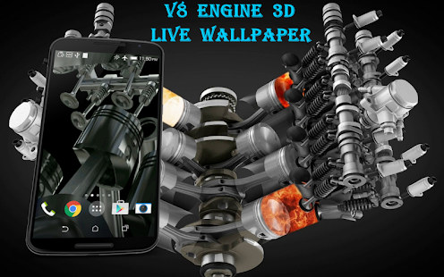 V8 engine 3d live wallpaper apps on google play screenshot image voltagebd Choice Image