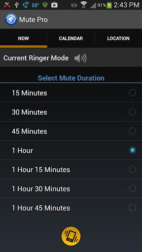 Mute Pro Auto Silent Ringer