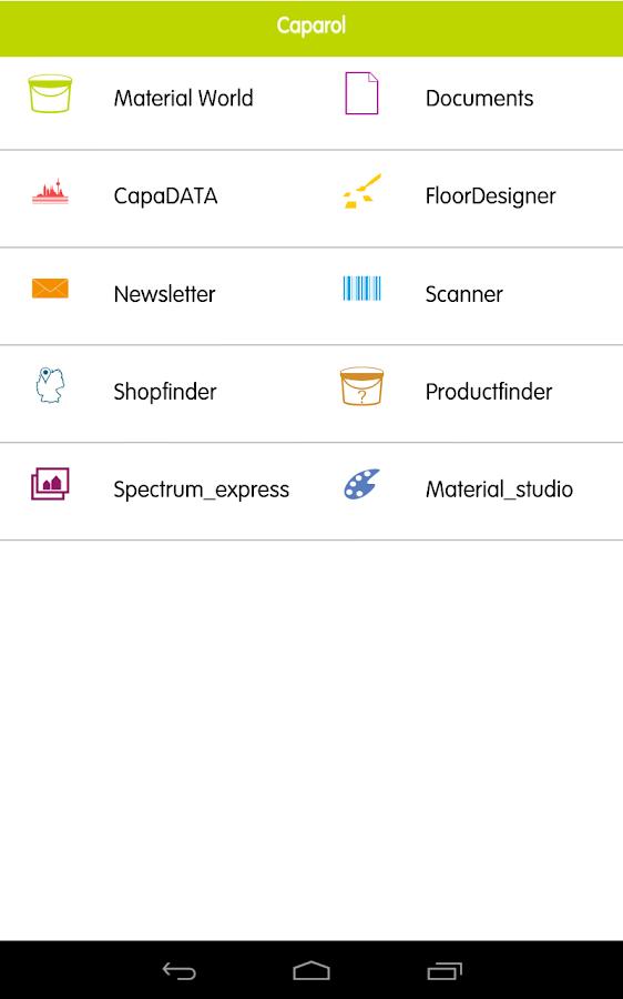 CAPAROL - screenshot
