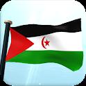 Westsahara Flagge 3D Kostenlos icon