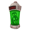 Alien Lab Battery Widget icon