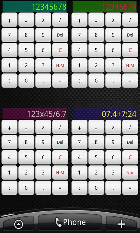 Useful Widgets- screenshot