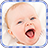 Baby Laugh mobile app icon