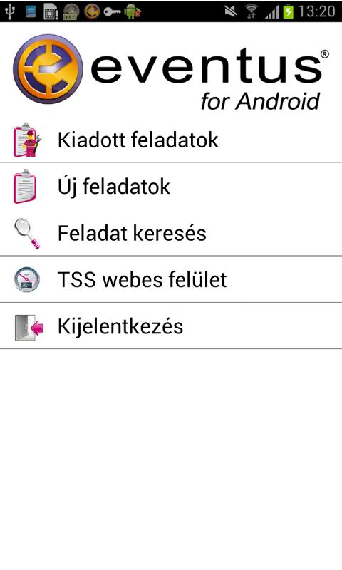 WFMS Eventus - screenshot