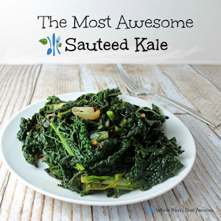 The Most Awesome Sauteed Kale.