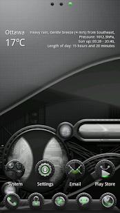 (FREE) Agent GO Launcher Theme- screenshot thumbnail