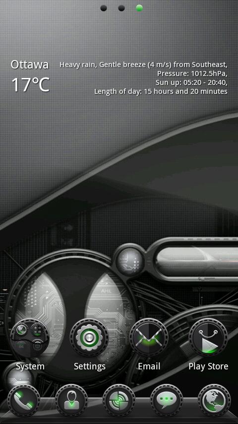 (FREE) Agent GO Launcher Theme- screenshot