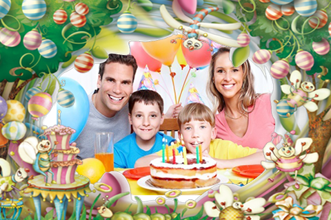 Outstanding Happy Birthday Photo Frame Effect Model - Custom Picture ...