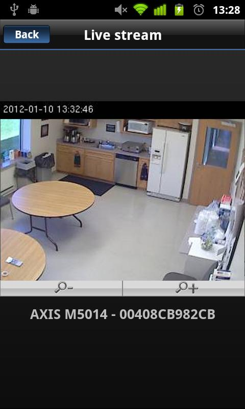 Viewer for Axis Camera Station - screenshot