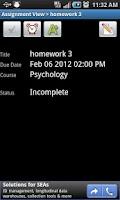 Screenshot of Assignment Planner FREE