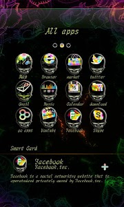Rose Soul GO Launcher Theme v1.0