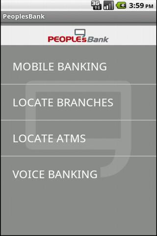 PeoplesBank Mobile Banking App
